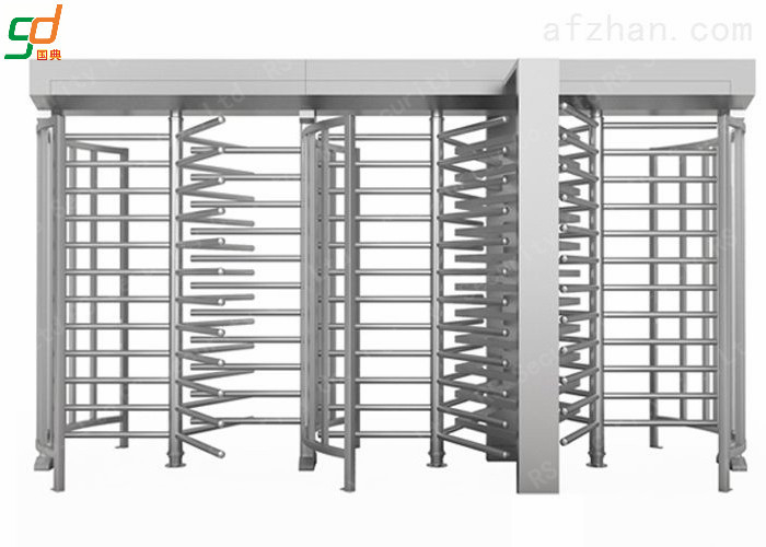 Single Side Automatic Full Height Turnstiles High Security Rust-proof Barrier